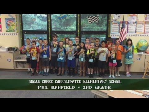 Sugar Creek Consolidated Elementary School - Mrs. Banfield -2nd Grade