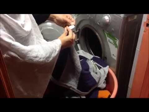 Sweaters & Jackets Washing Demo In LG Front Loading Washing Machine (Part VI)
