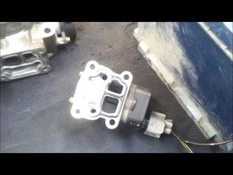 Как проверить работу клапана холостого хода Тойота 3S-FE