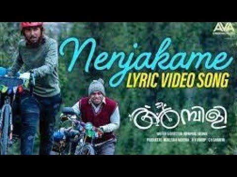 nenjakame-song-|ambili-movie-|soubin-shahir-|