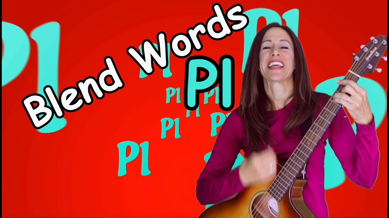 Blends Songs | Letter Blends Pl | Consonant Song for Children by Patty Shukla