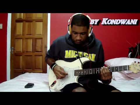 "☢♬☆ B.o.B - ""Don't let Me Fall"" Guitar Cover with Chords☆♬☢"