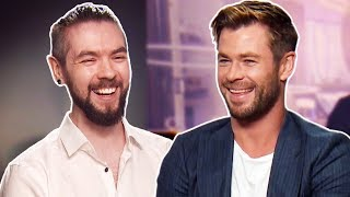 Thor Smiled At Me (Chris Hemsworth and Tessa Thompson)