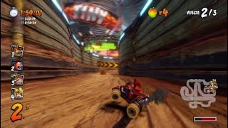 Crash team racing trofeo talento natural