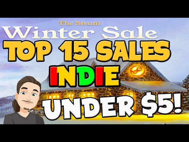 Top 15 Indie Game Recommendations Under $5 || Steam Winter Sale 2020