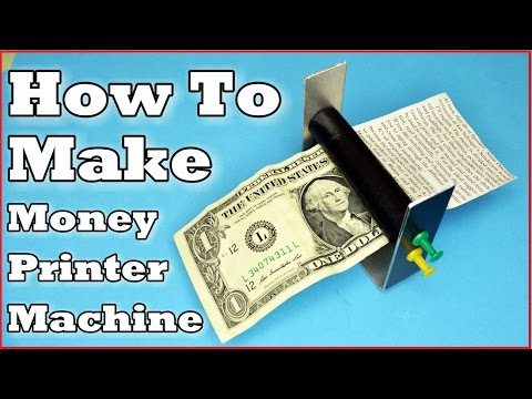 How To Make Money Printer Machine