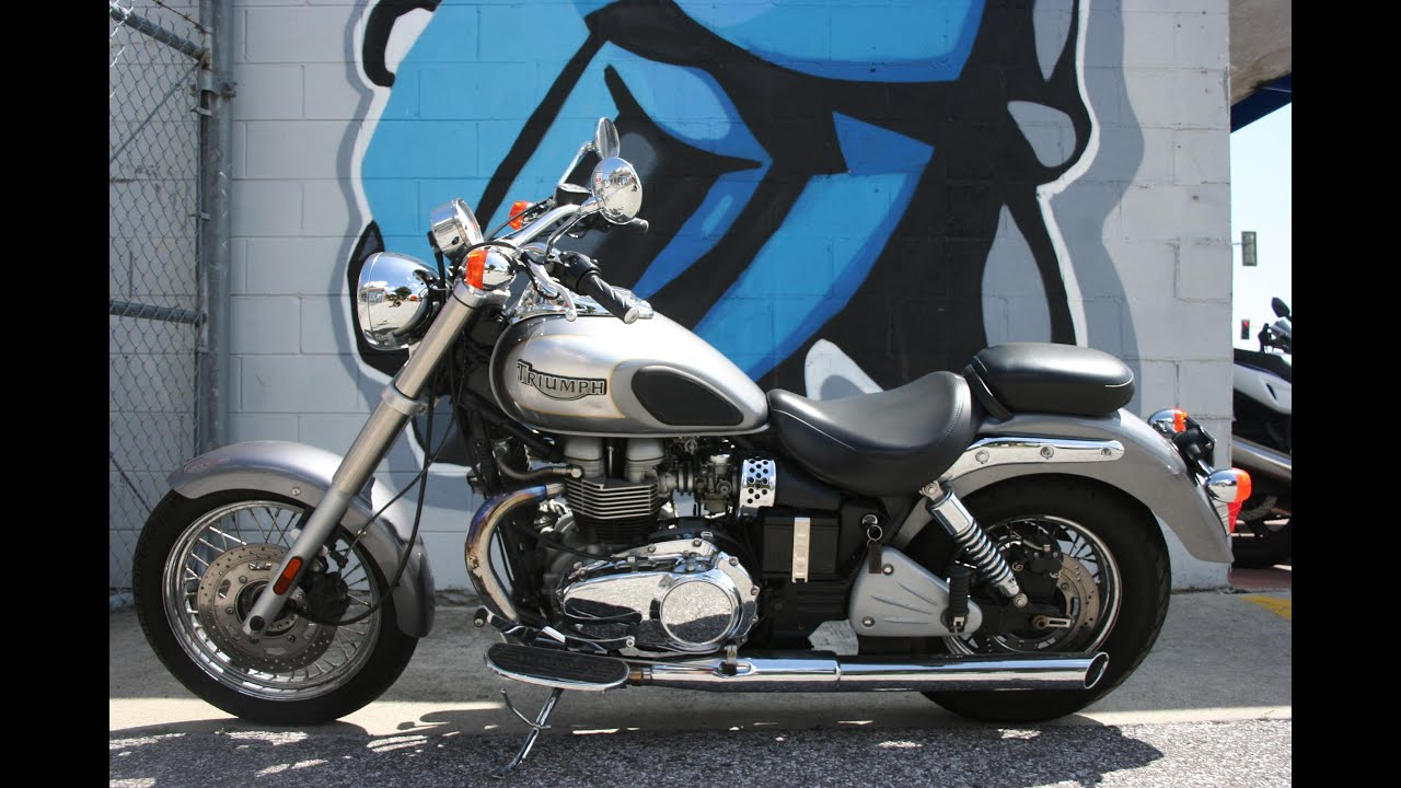 2006 Triumph Bonneville America...Great Retro Cruiser - YouTube