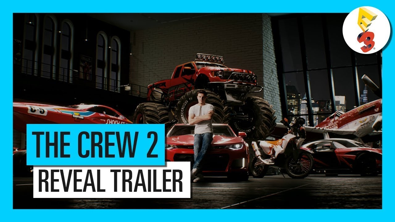 eng sub the crew 2 e3 2017 reveal trailer ubisoft sea youtube. Black Bedroom Furniture Sets. Home Design Ideas