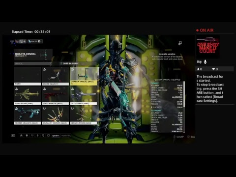 Warframe Mutagen Sample farming episode 4 (Survival) - YouTube