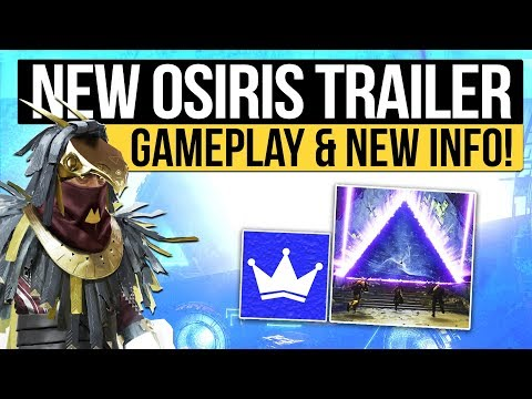 Destiny 2 | New Osiris Reveal Trailer, New Foundry Weapons, Raid Update Hints, New Quests & More!