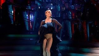 Stacey Dooley Strictly Come Dancing wardrobe malfunction THE FINAL dance Kevin Clifton 2018