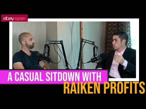 A casual sit down with Steve Raiken of Raiken Profits #ebayopen2019