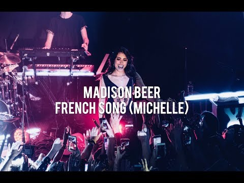 Madison Beer - French Song Michelle (Cover of Beatles) - Paris - March 2018
