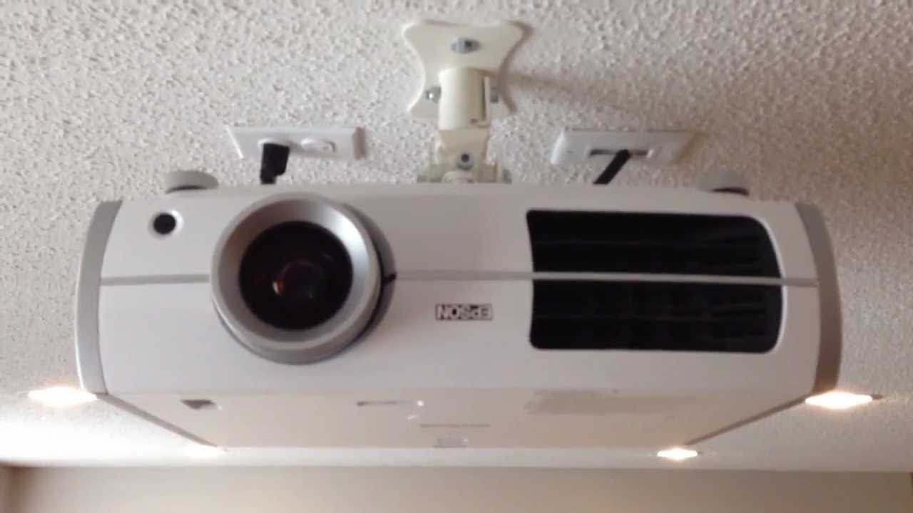 How To Ceiling Mount Epson Projector Mail Cabinet