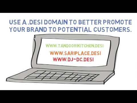 Show you #DesiPride with a .desi domain name