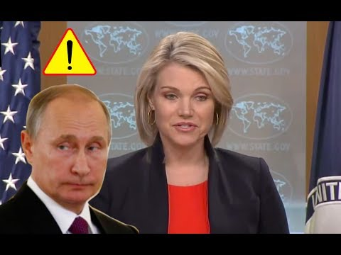 Heather Nauert Calls Putin and Russia Immature and Irresponsible For Showing Video Attacking U.S.