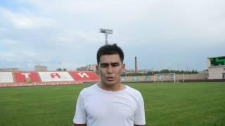 Ерсалимов — о матче с «Кыраном»