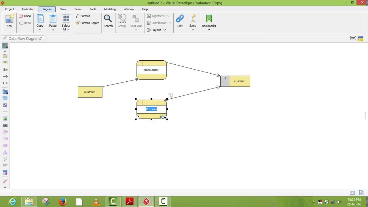 Data flow diagram using visual paradigm youtube data flow diagram using visual paradigm ccuart Gallery