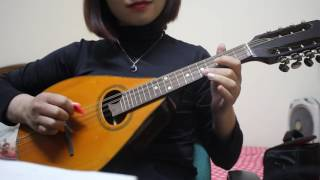 Tập đánh đàn Mandolin_ Mandolin Basic ( ĐÔI BỜ- nhạc Nga )