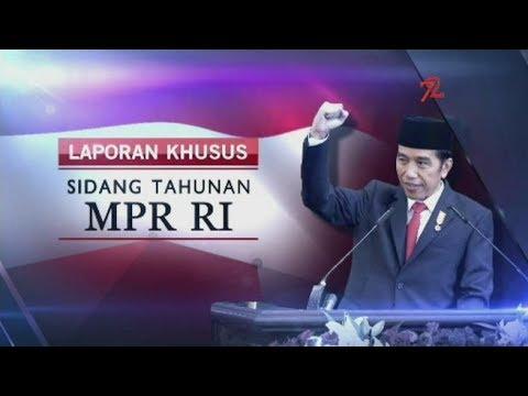 Pidato Presiden di Sidang Tahunan MPR 2017