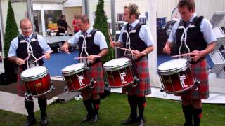 House of Edgar Shotts & Dykehead Caledonia Drum Corps Salute - World Pipe Band Championships 2011