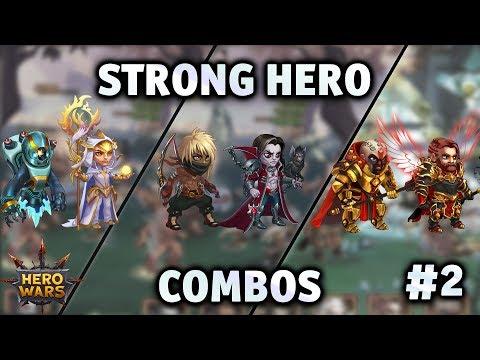 Strong Hero Combos #2   Hero Wars
