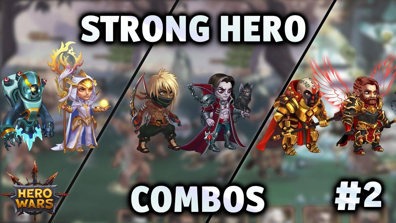 Strong Hero Combos #2 | Hero Wars