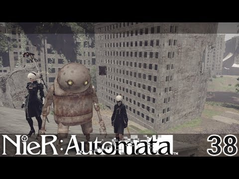 Nier Automata Part 38 - The 3 Wise Machines