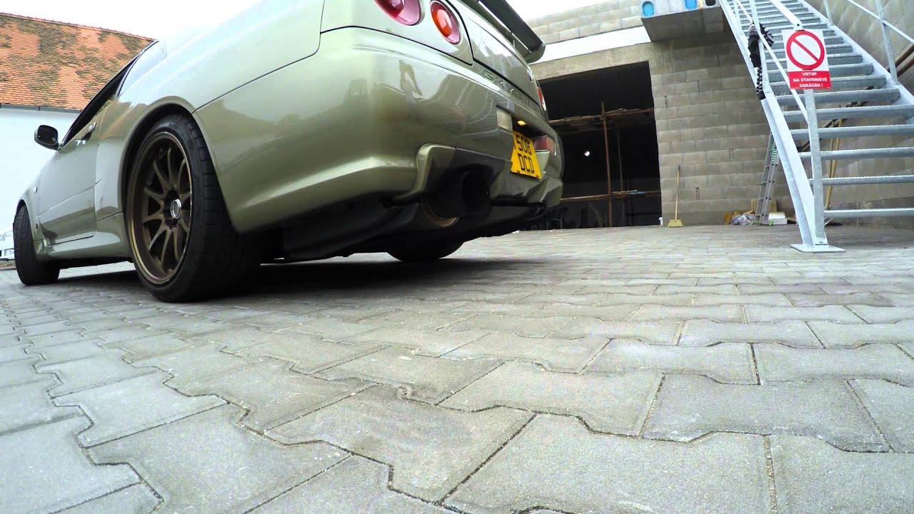 Nissan Skyline Gt R R34 Hks Exhaust 4k Youtube