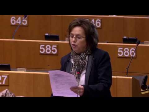 Dominique Bilde intervient en séance plénière sur ur le programme Europe Créative