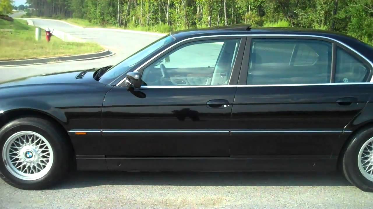 1998 bmw 740il e38 107k miles youtube. Black Bedroom Furniture Sets. Home Design Ideas