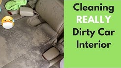 Cleaning A REALLY Dirty Interior! 6 HOUR Detail (Business Advice Talk) - Interior Car Detailing