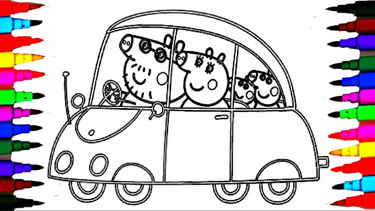 PEPPA PIG Coloring Book Pages Kids Fun Art Activities ...