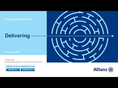 Allianz Group Analyst conference call on the financial results 2019