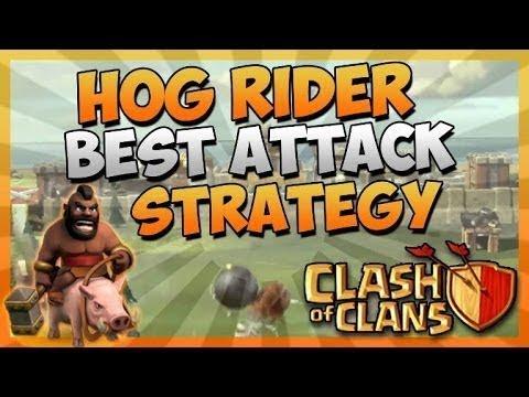 Clash of Clans: Super Queen + Hog Rider TH11 3 Star Attack ...
