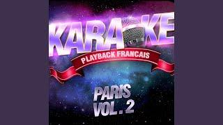 Mon Vieux Paris — Karaoké Avec Chant Témoin — Rendu Célèbre Par Maurice Chevalier