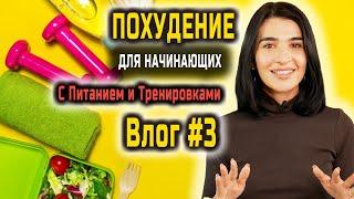 Жиросжигающие Тренировки Похудения в Домашних Условиях Для Женщин Питание УРОК 3 из 10