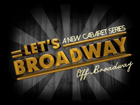 Let's Broadway Cabaret Series! - Crossword Puzzle (by Emilie Jensen)