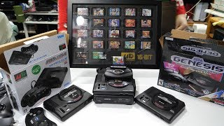 Sega Genesis Mini COLLECTOR'S EDITION, MEGA TOWER, & Every Other Version Unboxed