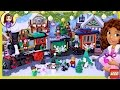 LEGO Winter Village Holiday Train Build Review Christmas Lego Friends - Kids Toys