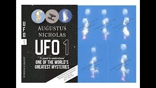 UFO-1-Original-UFO Footage-Was ist das Bizarre Plasma-Comic-Figuren Fliegen im Himmel? Buch-UFO 1