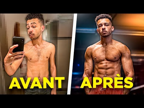 MA TRANSFORMATION PHYSIQUE INCROYABLE