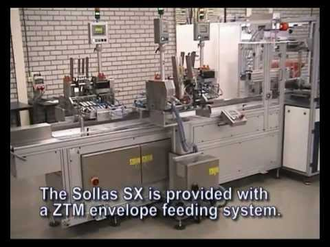Sollas SX Overwrapper With ZTM Envelope Counting And Feeding System