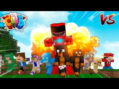 Minecraft - EVIL POWER RANGERS.EXE ARE OUT TO RUIN THE LITTLE CLUB !!