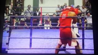 Kamil Erkadoo - Unlicensed Fight (RingTone Boxing) 2014