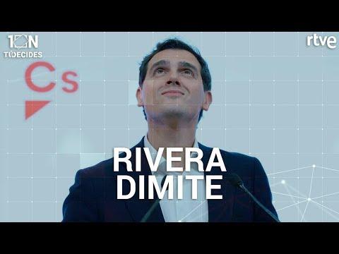 Albert Rivera dimite como presidente de Ciudadanos | Elecciones 10N