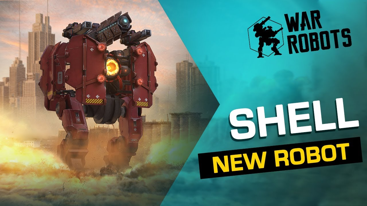 War Robots: SHELL, The Ironclad Demolisher 🐢 | NEW ROBOT Overview (Evolife Bloom)