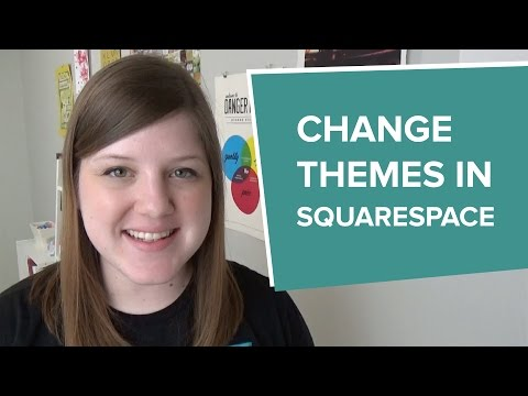 How to Change a Squarespace Template or Theme