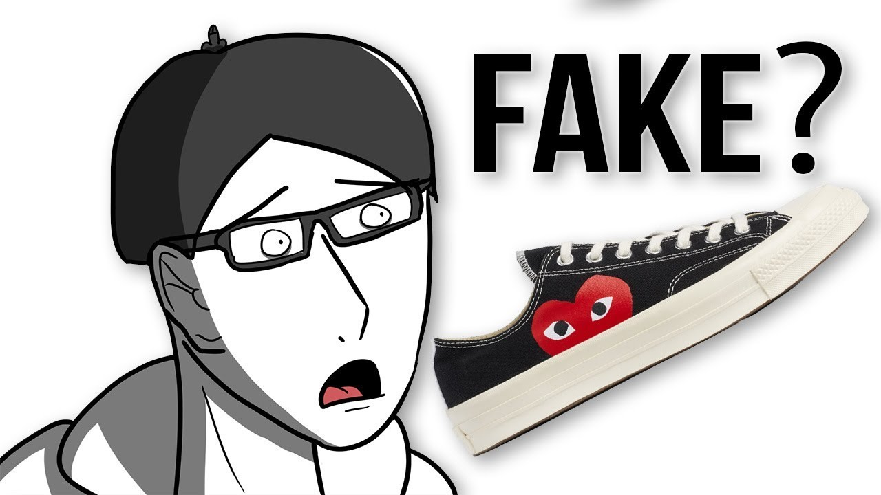 fake cdg converse