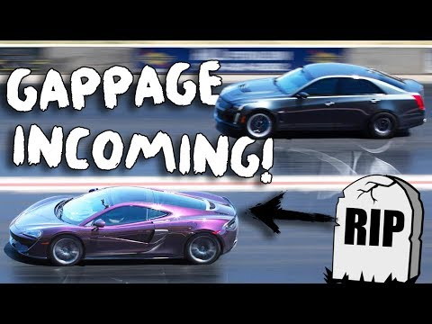 """Exotic gets GAPPED by a """"Grandma Car""""! 